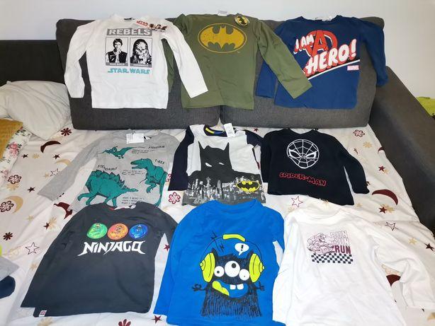Lot bluze băieți HM, Marvel, Lego, Batman, Spider man