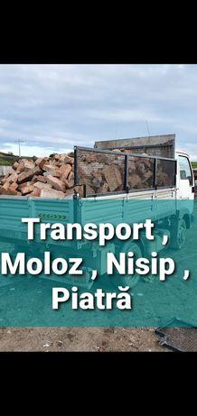 Transport!! Preturi mici nisip balastru moloz