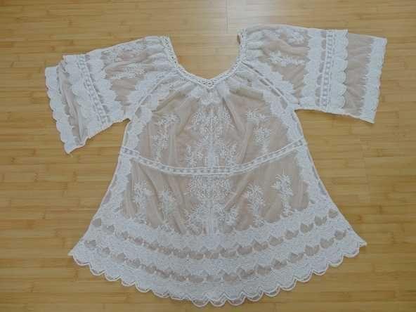 rochie vaporoasa pentru plaja