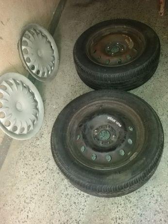 Летни гуми Bridgestone с джанти - 2 бр.