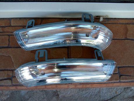 Мигач в огледала LED VW голф 5,6,Шаран, Пасат б5.5 б6 Шкода