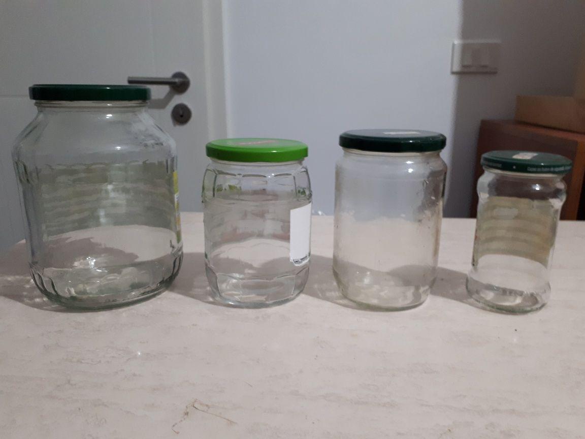Borcane sticla 1700 ml / 720 ml / 400 ml cu capac