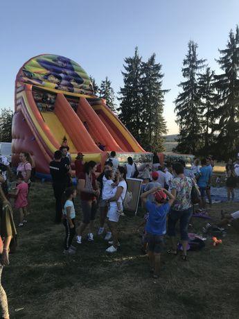 Topogane gonflabile profesionale de inchiriat