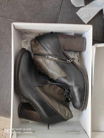 Ботильоны кожаные 38 размер