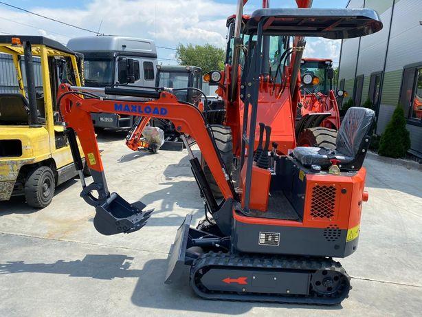Miniexcavator nou / excavator nou de vanzare 1000kg