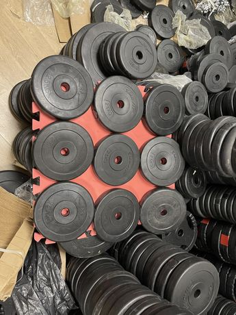 Discuri pt.Gantere reglabile si pt haltere noi de 2,5 kg germany 26 mm