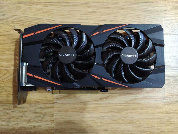 """RX 580 8гб """"Gigabyte gaming"""""""