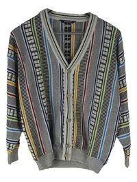 Cardigan Dama Monello Vintage Marimea XL Multicolor Bumbac BD13