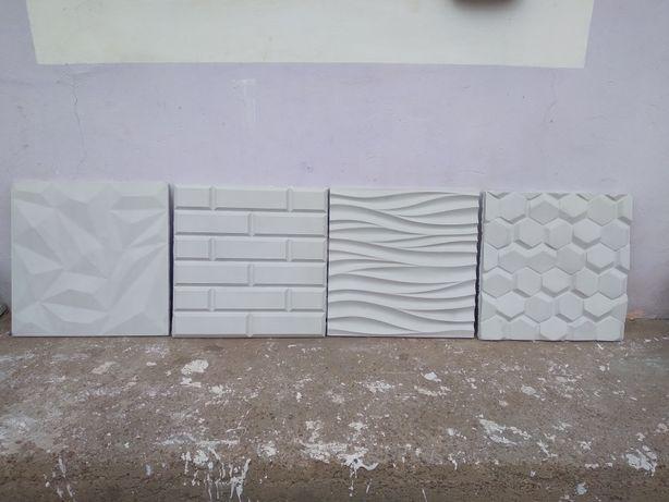 Vand placi decorative 3d și placi piatra sparta