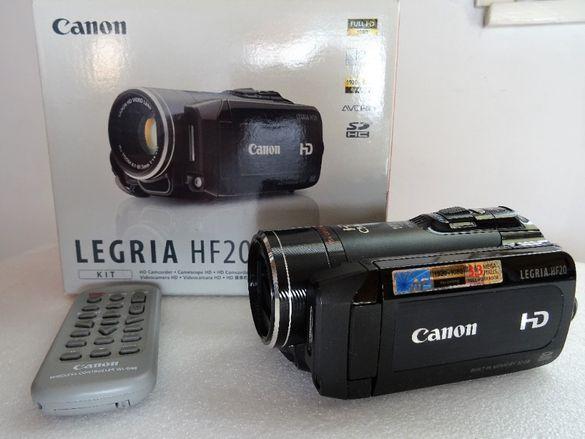 Нова Canon LEGRIA HF20 3,89 MP CMOS Full HD видеокамера