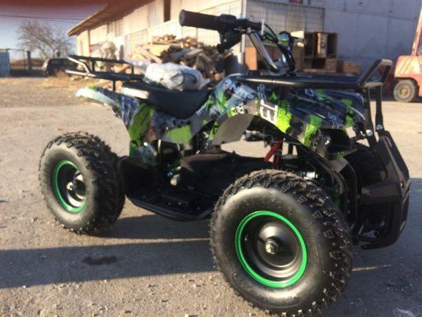 ATV electric pentru copii NITRO Torino Quad 1000W 48V #Verde