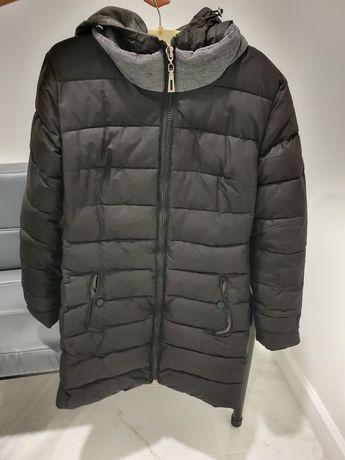 Куртка зимняя черного цвета