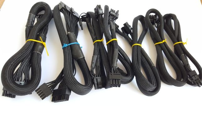 Cabluri pentru surse modulare, extensii, adaptoare pentru surse pc.
