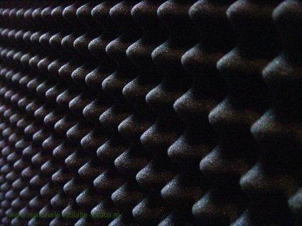Burete izolatie fonica cofrat fonoabsorbant pentru studio / boxe