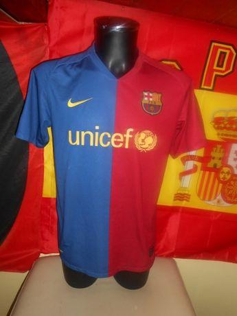 tricou fotbal barcelona nike 2008 2009 marimea M