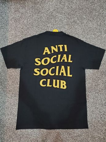 Tricou Assc Anti Social Social Club nou original