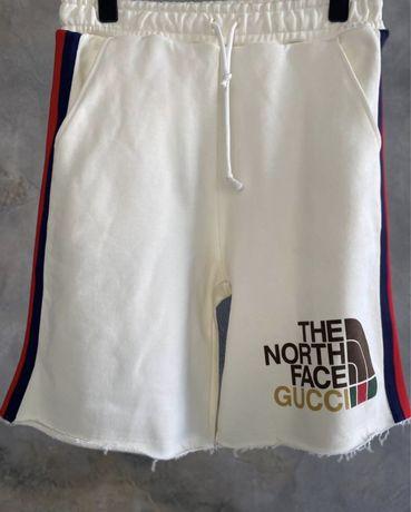 Pantaloni scurti gucci north face bumbac model oversize nou2021