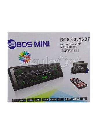 Магнитола Bos-Mini BOS-6031SBT c Bluetooth + с джойстиком для руля