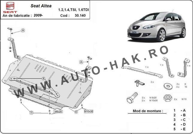 Scut motor metalic Seat Altea 2010-prezent
