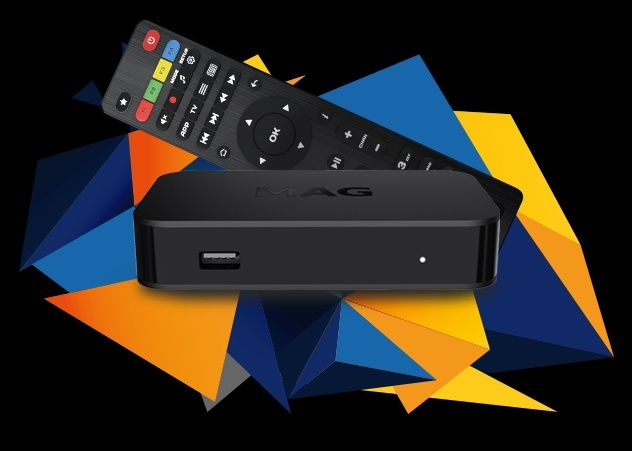 MAG322 IPTV приставка