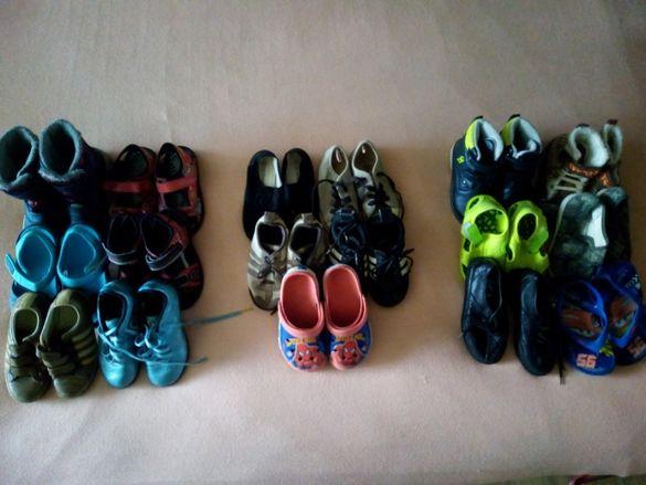 много детски обувки
