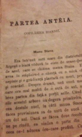 Carte f. veche, scriere originală