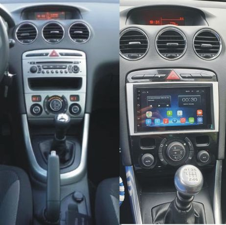 Navigatie Android 10 GPS USB WiFi 7inch 2 Din PEUGEOT 308 si 308 cc