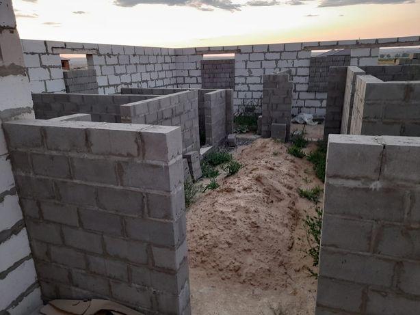 Продам недостроеный Дом в Жанаконыс 5