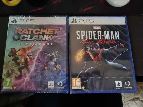 Jocuri PS 5 Playstation 5 Spider Man si Ratchet