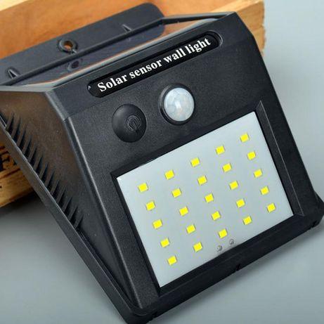 Уличный светодиодный фонарь с датчиком движения