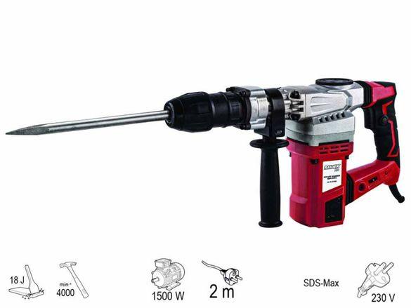 Перфоратор RAIDER RDP-DH03 1500W, SDS-max, 18J, 4000 мин-1