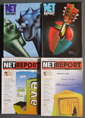 Revista NET REPORT 2001 - 2003