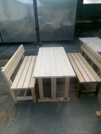 Комплект маса с пейки