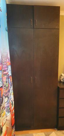 Шкаф с местом для гладильной доски (цвет венге)
