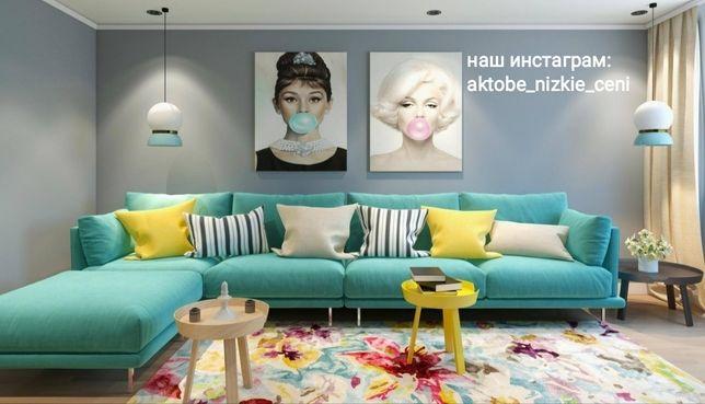 Диван, кресло, пуфы на заказ, реставрация дивана, перетяжка дивана
