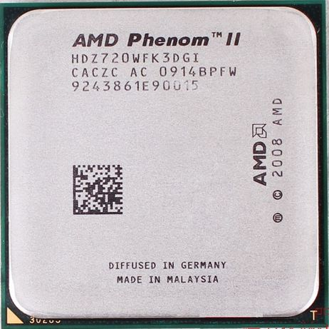 AMD Phenom II X3 720 Black Edition /2.8GHz/