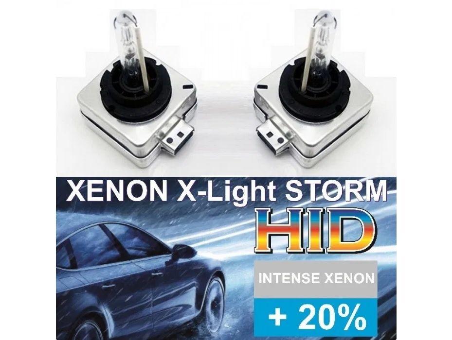 Bec Xenon D1S X-Light Storm 4300k 5000 6000k 8000 becuri xenon Pitesti - imagine 1
