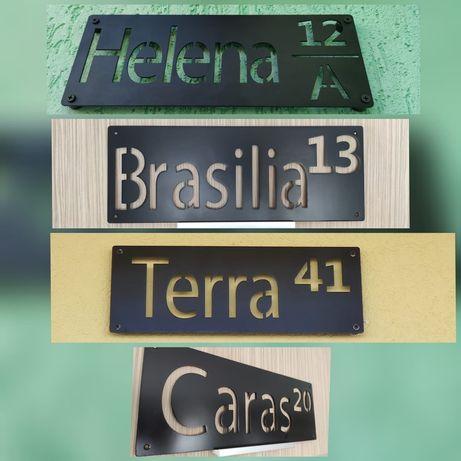 Numar casa personalizat / Numere de strada