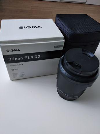 Sigma 35mm 1.4 Art для Canon
