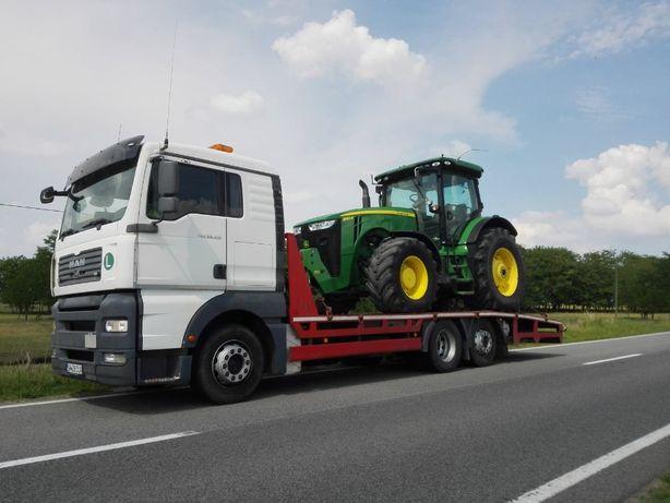Transport utilaje tractor stivuitor excavator nacela