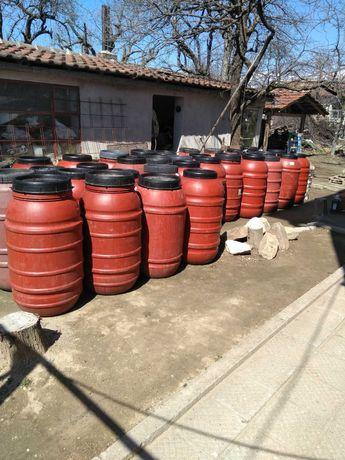 Бидони 220 литра от маслини подходящи за вода, ракия и други нужди