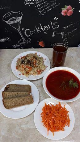 Комплексный обед, доставка обеда по городу