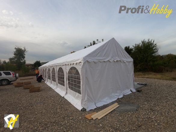 Професионални шатри 4м широки - здрави и водоустойчиви