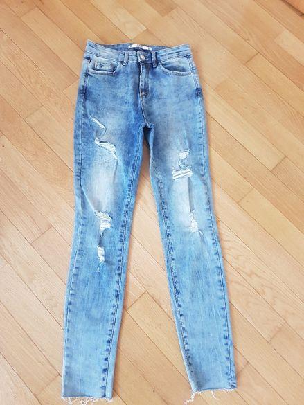 Ефектни дамски дънки и панталон ,размер 38