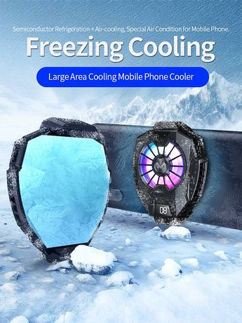 Cooler racire telefon Playsmartshop, model DL05, Pubg fortnite call of