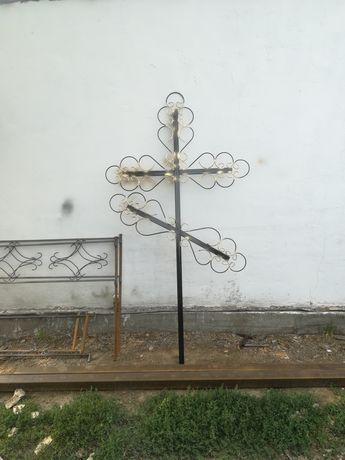 Кресты оградки ритуальные