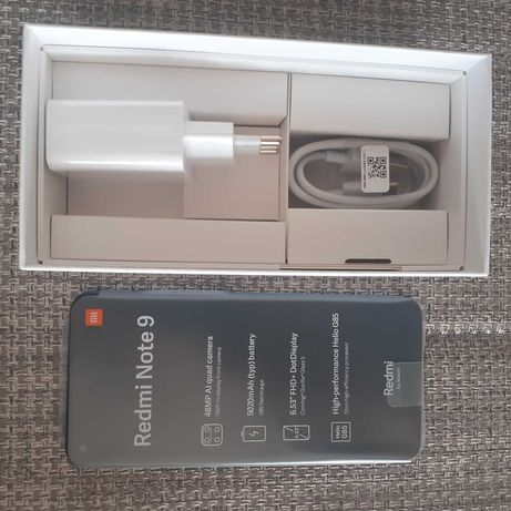 Smartphone Redmi Note9 Midnight Grey 4Gb Ram 128 GB Rom