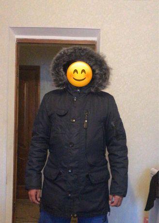 Мужские куртки кожанные и аляски