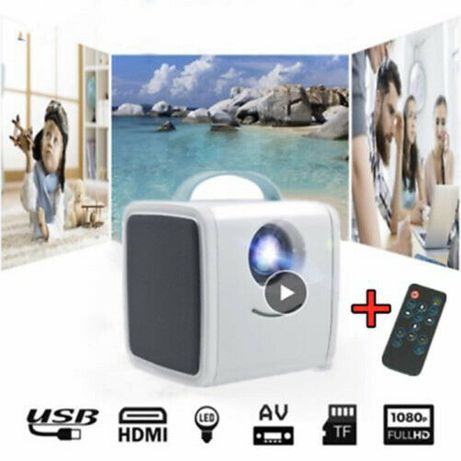 МИНИ Проектор Q2 за домашно кино 1080P HD Развлечение Видео забавление