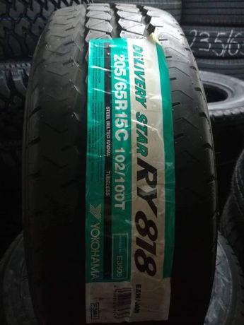 YOKOHAMA RY818 205 65 R 15 C Летни / DOT 0611